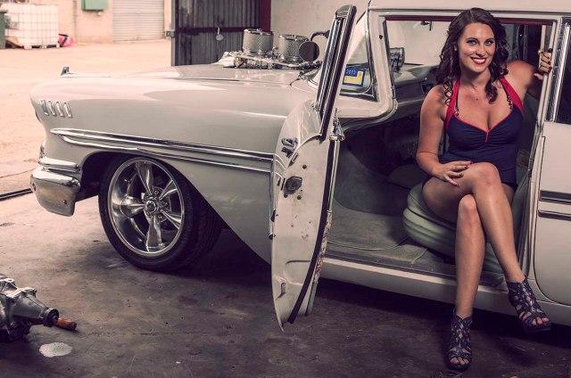 58CHEV Model Kirra Crofts Cruizin 2013 - CrcooperPhotography - 02 copy