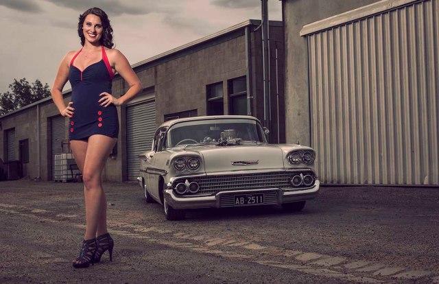 58CHEV Model Kirra Crofts Cruizin 2013 - CrcooperPhotography - 15 copy